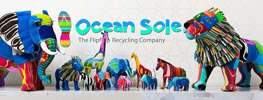 Ocean Sole Flip Flop recycling