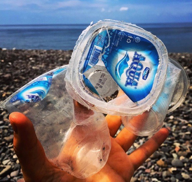 Hack the 'disposable' plastic cup - Oceanpreneur